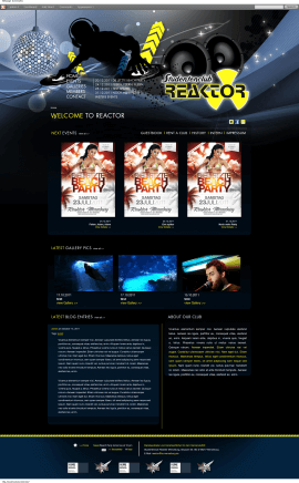 Wordpress Theme - Studentenclub Reaktor Merseburg
