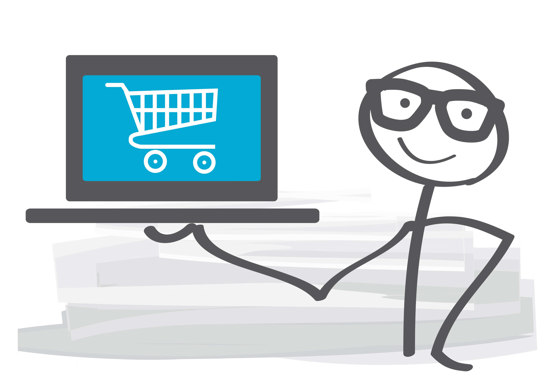 Webshop, online-shopping
