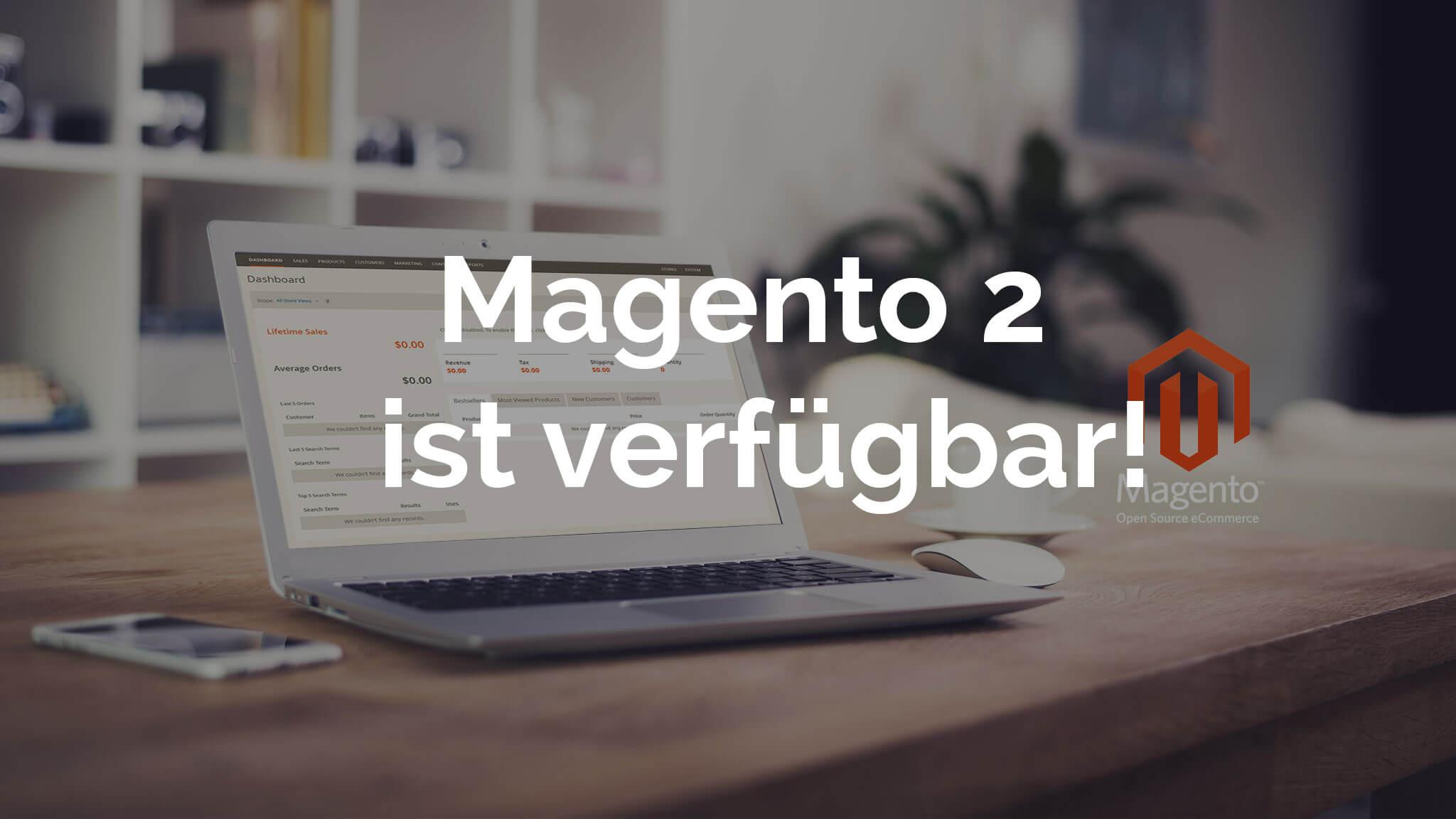 Magento2 veröffentlicht