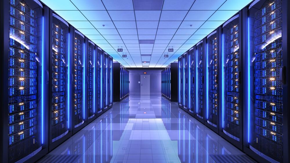 Magento Hosting - Serverraum als Sinnbild