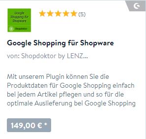 Google Shopping Plugin
